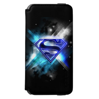 Superman Stylized | Blue White Crystal Logo Incipio Watson™ iPhone 6 Wallet Case