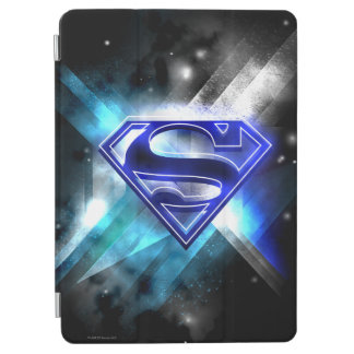Superman Stylized | Blue White Crystal Logo iPad Air Cover