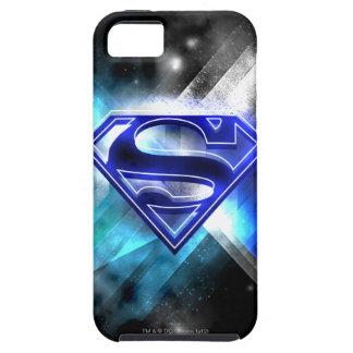 Superman Stylized | Blue White Crystal Logo iPhone 5 Cover