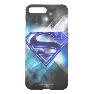 Superman Stylized | Blue White Crystal Logo iPhone 8 Plus/7 Plus Case
