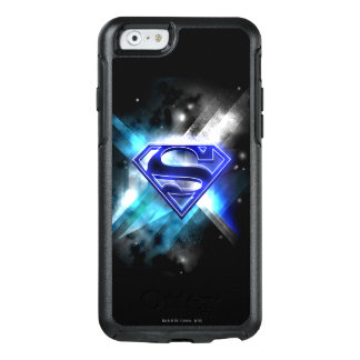 Superman Stylized | Blue White Crystal Logo OtterBox iPhone 6/6s Case