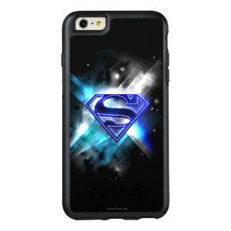 Superman Stylized | Blue White Crystal Logo OtterBox iPhone 6/6s Plus Case