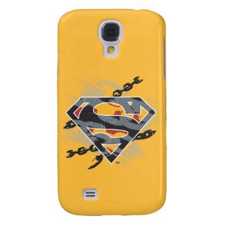 Superman Stylized | Chains Logo Galaxy S4 Case