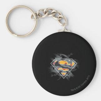 Superman Stylized | Chains Logo Key Ring