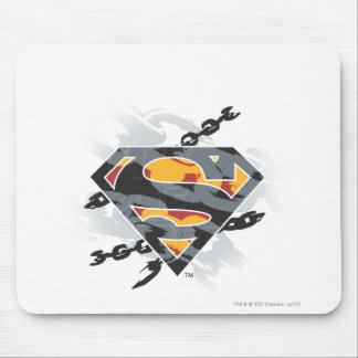 Superman Stylized | Chains Logo Mouse Mat