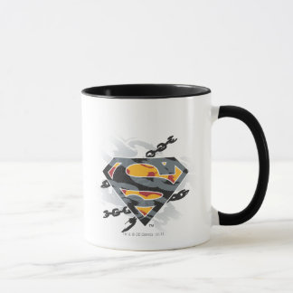 Superman Stylized | Chains Logo Mug