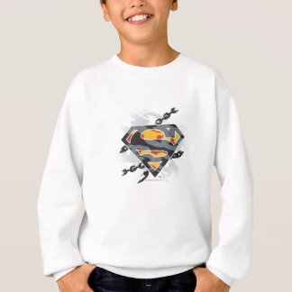 Superman Stylized | Chains Logo Sweatshirt
