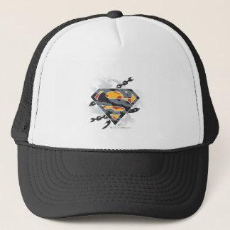 Superman Stylized | Chains Logo Trucker Hat