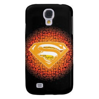 Superman Stylized | Crackle Logo Galaxy S4 Case