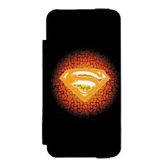 Superman Stylized | Crackle Logo Incipio Watson™ iPhone 5 Wallet Case