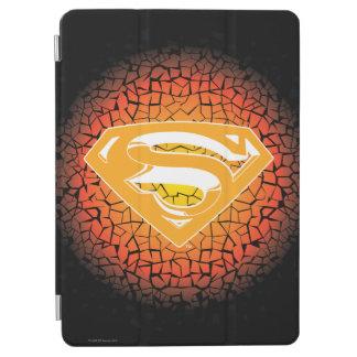 Superman Stylized | Crackle Logo iPad Air Cover
