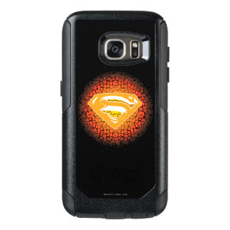 Superman Stylized | Crackle Logo OtterBox Samsung Galaxy S7 Case