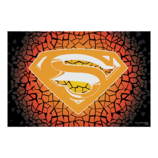 Superman Stylized | Crackle Logo Poster
