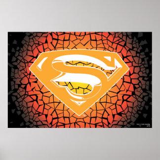 Superman Stylized | Crackle Logo Poster