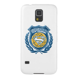 Superman Stylized | Crest with Globe Logo Galaxy S5 Cover