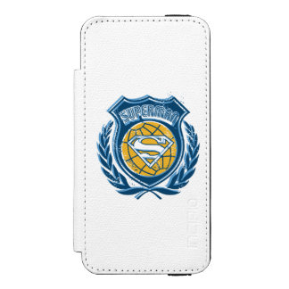 Superman Stylized | Crest with Globe Logo Incipio Watson™ iPhone 5 Wallet Case
