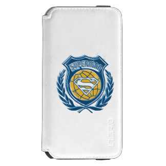 Superman Stylized | Crest with Globe Logo Incipio Watson™ iPhone 6 Wallet Case