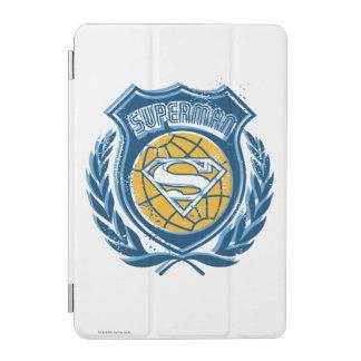 Superman Stylized | Crest with Globe Logo iPad Mini Cover