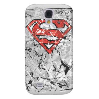 Superman Stylized | Crumpled Comic Logo Galaxy S4 Case