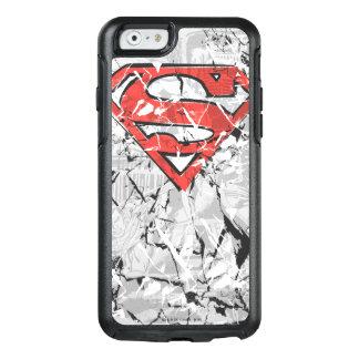 Superman Stylized | Crumpled Comic Logo OtterBox iPhone 6/6s Case
