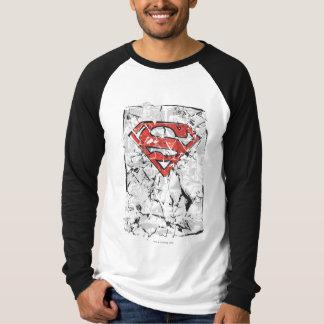 Superman Stylized | Crumpled Comic Logo Tee Shirts