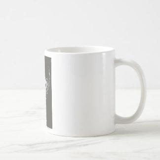 Superman Stylized | Dark Brown Background Logo Coffee Mug