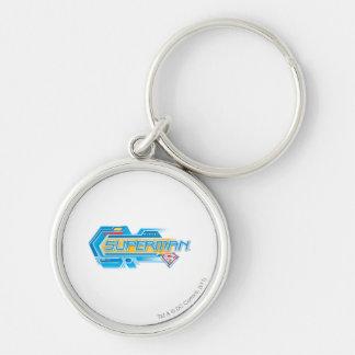 Superman Stylized | Electronic Logo Key Ring