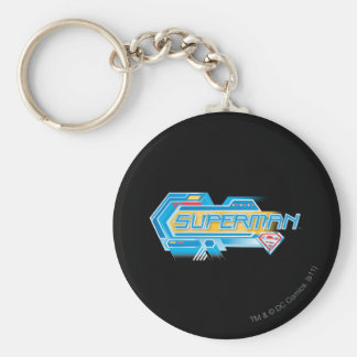 Superman Stylized | Electronic Logo Key Ring