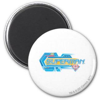 Superman Stylized | Electronic Logo Magnet