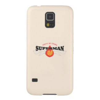 Superman Stylized | Fists of Steel Logo Case For Galaxy S5