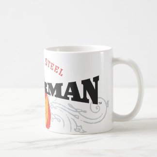 Superman Stylized | Fists of Steel Logo Coffee Mug