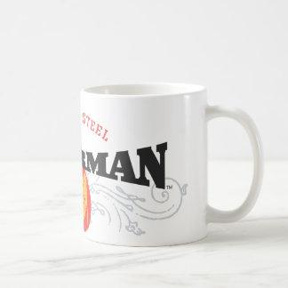 Superman Stylized   Fists of Steel Logo Coffee Mug