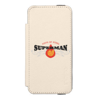 Superman Stylized | Fists of Steel Logo Incipio Watson™ iPhone 5 Wallet Case