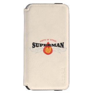 Superman Stylized | Fists of Steel Logo Incipio Watson™ iPhone 6 Wallet Case