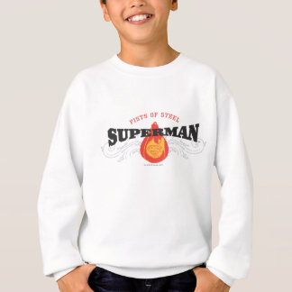 Superman Stylized | Fists of Steel Logo Sweatshirt