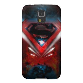 Superman Stylized   Futuristic Logo Galaxy S5 Cover