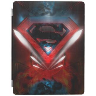 Superman Stylized | Futuristic Logo iPad Cover
