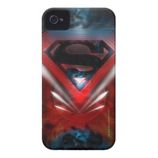 Superman Stylized   Futuristic Logo iPhone 4 Case-Mate Cases