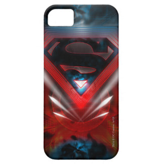 Superman Stylized   Futuristic Logo iPhone 5 Cases