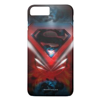 Superman Stylized | Futuristic Logo iPhone 8 Plus/7 Plus Case