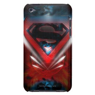 Superman Stylized   Futuristic Logo iPod Touch Case