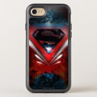 Superman Stylized | Futuristic Logo OtterBox Symmetry iPhone 7 Case