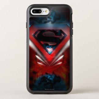 Superman Stylized | Futuristic Logo OtterBox Symmetry iPhone 7 Plus Case