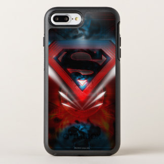 Superman Stylized | Futuristic Logo OtterBox Symmetry iPhone 8 Plus/7 Plus Case