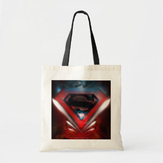 Superman Stylized | Futuristic Logo Tote Bag