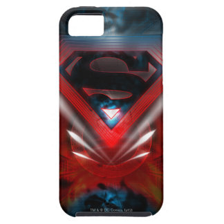 Superman Stylized   Futuristic Logo Tough iPhone 5 Case