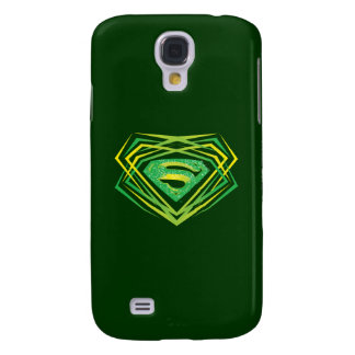 Superman Stylized | Green Decorative Logo Galaxy S4 Case