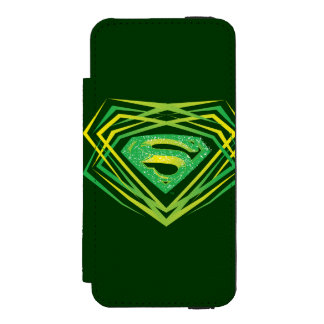 Superman Stylized | Green Decorative Logo Incipio Watson™ iPhone 5 Wallet Case