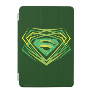Superman Stylized | Green Decorative Logo iPad Mini Cover