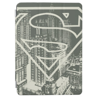 Superman Stylized | Green Metropolis Logo iPad Air Cover